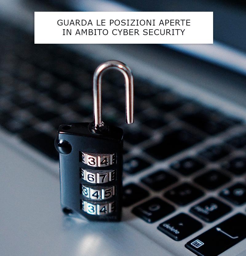 cyber security offerte di lavoro